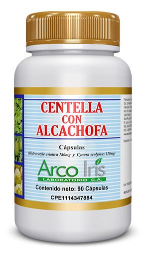 Centella con Alcachofa
