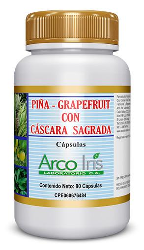 Piña Grapefruit con Cáscara Sagrada