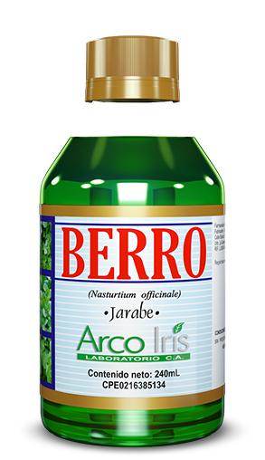 (Español) Berro (jarabe)